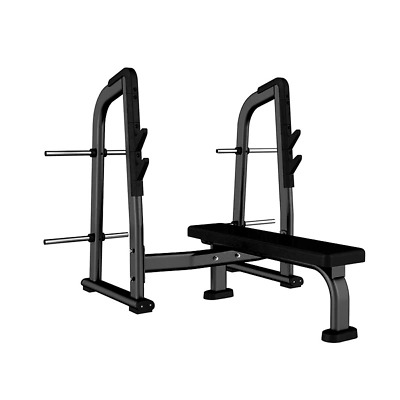 Flat Olympic Commercial Bench Press Station - PowerGym • 549.99£