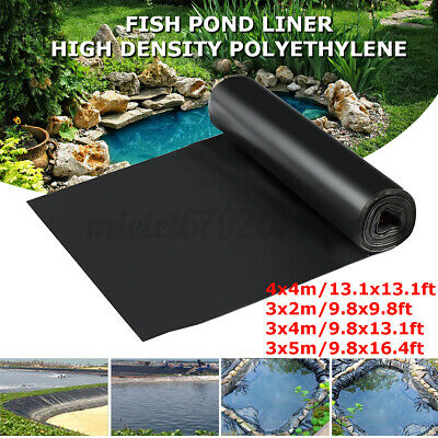 Fish Pond Liner Pool Liners Garden Membrane Thick Heavy Landscaping Reinforced • 15.44£