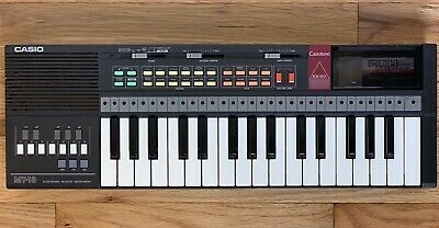 $49.99 • Buy Casio MT-18 CasioTone Electronic Keyboard W/ RO-551 ROM Card Pack Made In Japan