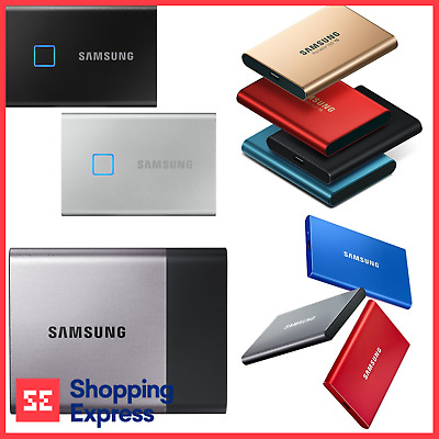 AU149 • Buy Samsung T3 T5 T7 500GB 1TB 2TB External Portable SSD Type-C Solid State Drive