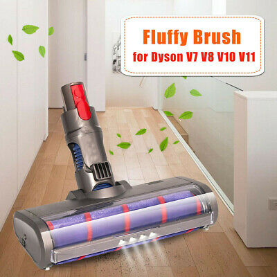 AU45.99 • Buy For Dyson V7 V8 V10 V11 Vacuum Cleaner Fluffy Floor Head Roller Brush Assembly