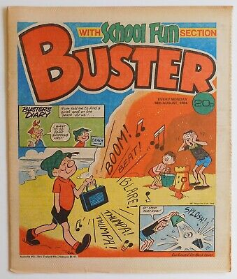 BUSTER Comic - 18th August 1984  • 2.99£