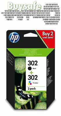 HP 302 2-pack Original Ink Cartridges Combo Pack X4D37AE • 27.90£