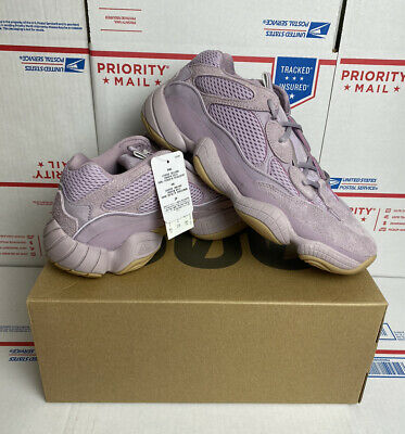 $ CDN565.52 • Buy Adidas Yeezy 500 Soft Vision Men's Size 9 Pink Purple Gum Kanye Shoes DS FW2656
