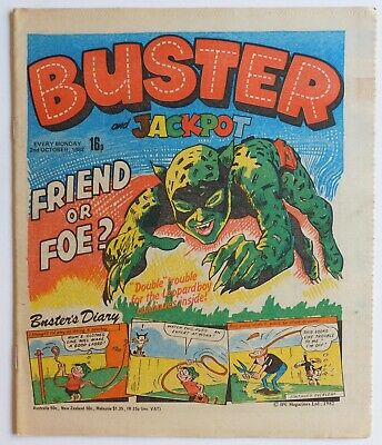 BUSTER Comic - 2nd October 1982 • 2.99£