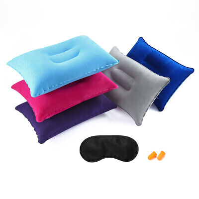 AU3.93 • Buy 1X Travel Portable Ultralight Inflatable Air Pillow Cushion Hiking Camping Rest