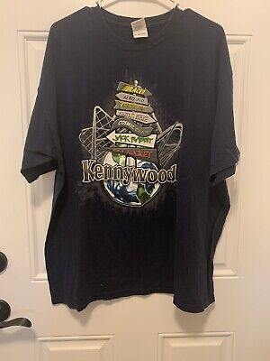 $12.99 • Buy Kennywood Amusement Park Rollercoaster T Shirt XL Pittsburgh PA