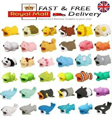 £1.50 • Buy Original Animal Bite Cable Protector For I Phone Charger USB Holder