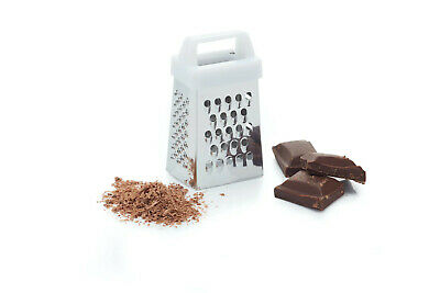 Kitchen Craft 6cm Four Sided Cheese Chocolate Nutmeg Mini Box Grater • 1.85£