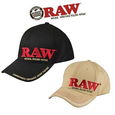 RAW Rolling Papers Hat  Baseball Cap Snapback 420 Roller Hat With Poker • 13.99£
