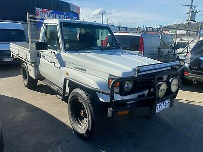 AU26950 • Buy Toyota Landcruiser 2000 79 Series 4.2 Diesel Manual 4x4 Cab/chassis Tray Ute