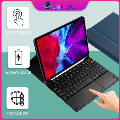 AU52.99 • Buy 【Touchpad】iPad Pro 11  12.9  2020/2018  Keyboard  Case Cover Pencil Holder