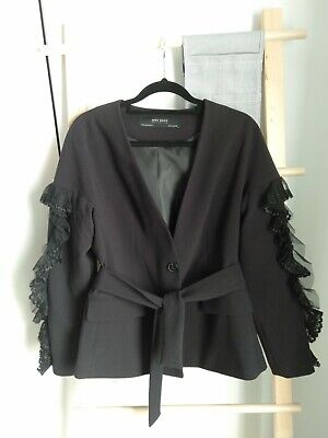 AU33 • Buy ZARA Black Jacket, Size Xs (6-8)