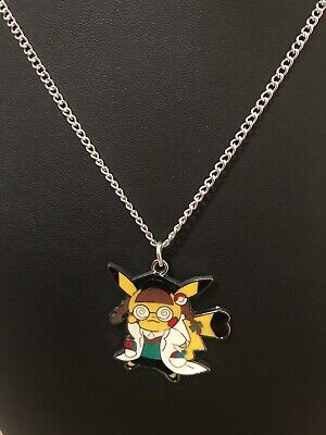 Nintendo Pokemon Cosplay Pikachu PH. D Inspired Necklace • 4.99£