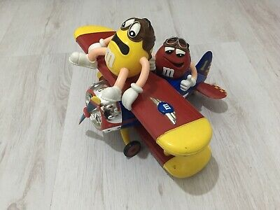 M & M Sweet Dispenser M And M Airplane Chocolate Sweet Dispenser Candy Holder • 9.99£