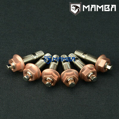 $23.65 • Buy Turbo Turbine Housing Outlet Stud / 46mm M10x1.5 /Greddy TD05 TD06 T3 3 Bolt Out