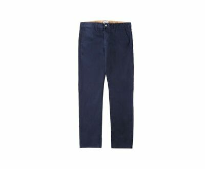 BNWT Mens Edwin Natural Classic Skinny Chinos Trousers Cotton Selvage Navy W32 • 50£