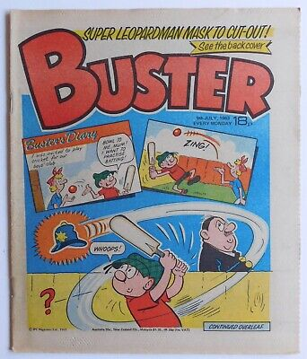 BUSTER Comic - 9th July 1983 • 2.99£