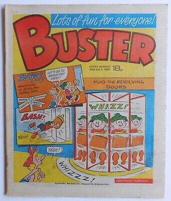 BUSTER Comic - 30th July 1983 • 2.99£