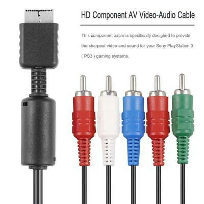 HD Component RCA AV Video-Audio Cable Cord For Playstation 2 3 PS2 PS3 New • 4.92£