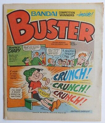 BUSTER Comic - 17th December 1983 • 2.99£