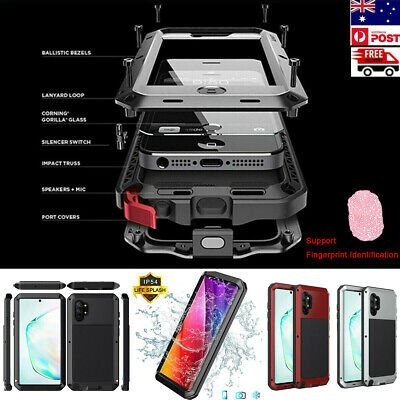 AU26.98 • Buy Metal Aluminum Heavy Duty Case Cover For Samsung Note 10 Plus S10 S9 S8 Note 9 8