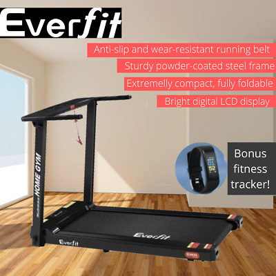 AU557.99 • Buy Everfit Electric Treadmill Home Gym Exercise Running Machine Fitness Black AU