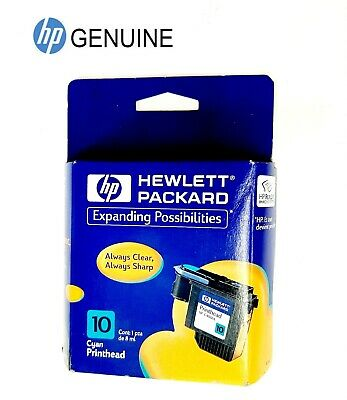 $14.35 • Buy Genuine HP 10 C4801A Cyan Printhead Cartridge 2000C 2500C Color Printers