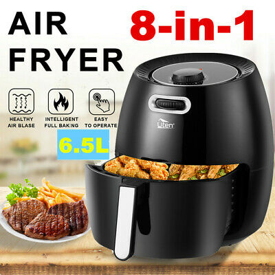 View Details Air Fryer 6.5L Power Oven 1800W Cooker Oil Free Low Fat Healthy Frying Chips • 67.99£