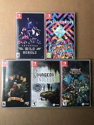 $150 • Buy Lot Of (5) [Nintendo Switch Games] Excellent Condition!! Free Shipping!!