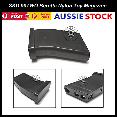 AU19.99 • Buy SKD 90TW0 Beretta M92 Nylon Magazine Extra Toy Mag Gel Blaster Accessories