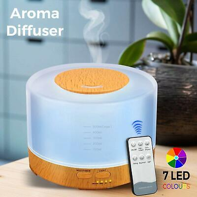 AU26.99 • Buy LED Ultrasonic Aroma Aromatherapy Diffuser Essential Oil Air Humidifier Purifier