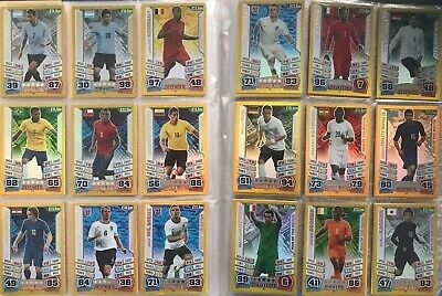 Match Attax Cards 2014 (Brazil) World Cup - Choose Any Card/s • 1.50£
