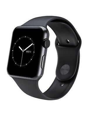 $ CDN290.97 • Buy Apple Watch Series 2 42mm - Stainless Steel Case With Black Sport Band