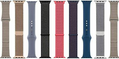 $ CDN38.03 • Buy Genuine Apple Series 4 3 2 1 Watch SPORT, LOOP Band 38 40 42 44mm Strap SM/ML