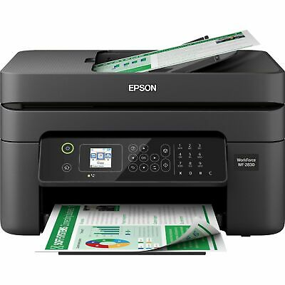 View Details Epson Workforce WF-2830 All-in-One Wireless Color Printer, Scanner, Copier, Fax • 139.99$