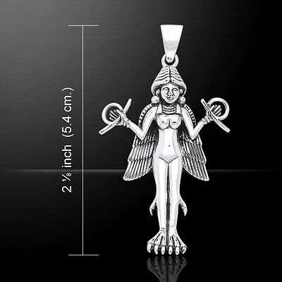 $ CDN92.29 • Buy Oberon Zell Goddess Lilith .925 Sterling Silver Pendant By Peter Stone