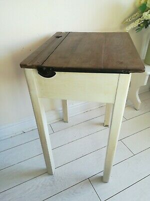 Vintage School Desk Chair Industrial 1960s Children's Homework Kids • 150£