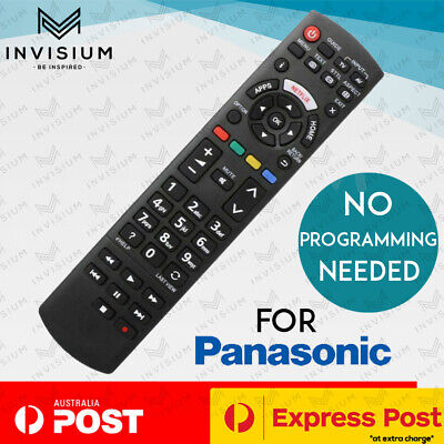 AU18.50 • Buy PANASONIC Replacement Smart TV LED LCD Remote Control With NETFLIX APPS Button