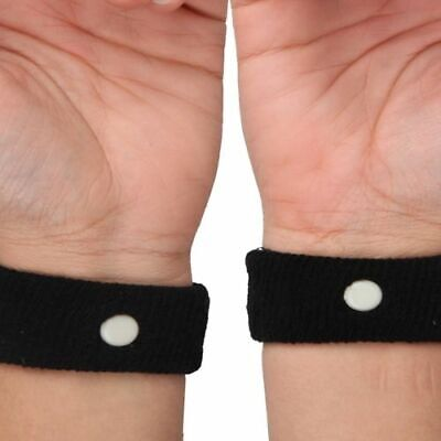 £2.99 • Buy Travel Sickness Bands Anti Nausea Bands Twin Pack Motion Sea Car Adult Children