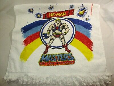 $32.99 • Buy Vtg. 1980's He-Man Masters Of The Universe Bath Towel Made USA