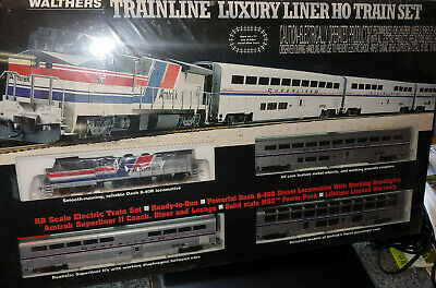 $ CDN361.68 • Buy Walthers TRainline LUXURY LINER  HO Train Set - Ready To Run (931-42)