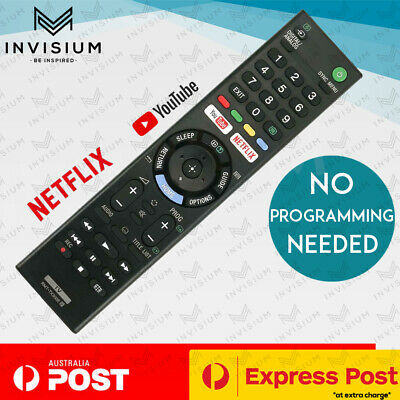 AU17.50 • Buy New RMT-TX300E Remote For Sony Bravia TV KD43X7000E KD49X7000E KDL32W660E