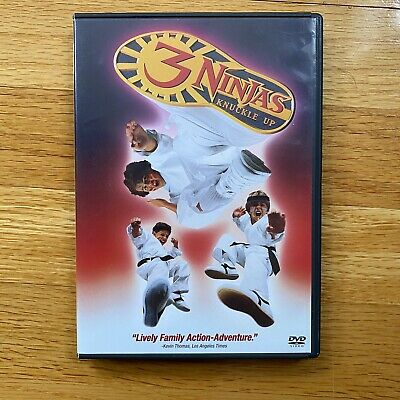 $ CDN17.28 • Buy 3 Ninjas Knuckle Up DVD Action 90s OOP Rare