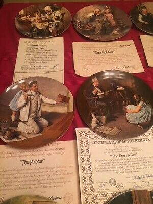 $ CDN317.90 • Buy Norman Rockwell Heritage Collection Series (16) Rockwell Collector's Plates
