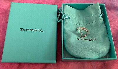 Tiffany And Co. Elsa Peretti Open Heart Ring Size M • 110£