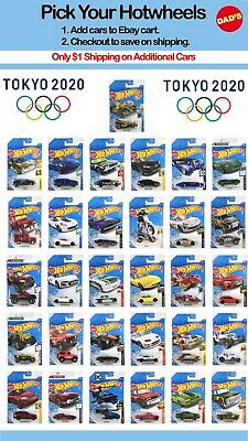 $2.49 • Buy Summer 2020 Hot Wheels Tokyo Olympics,You Pick,M Case, Save On Ship,Updated 9/21