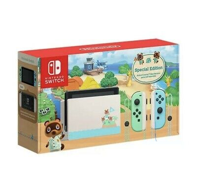 $ CDN952.49 • Buy BRAND NEW Animal Crossing Nintendo Switch Console LIMITED EDITION - AUS Official