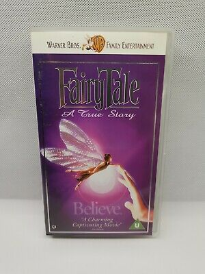FairyTale: A True Story - Children's Feature (1997) - VHS PAL New Sealed • 14£