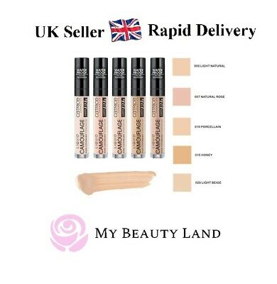 £4.79 • Buy Catrice Camouflage Liquid Eye Concealer High Coverage Long Lasting-Fast Delivery